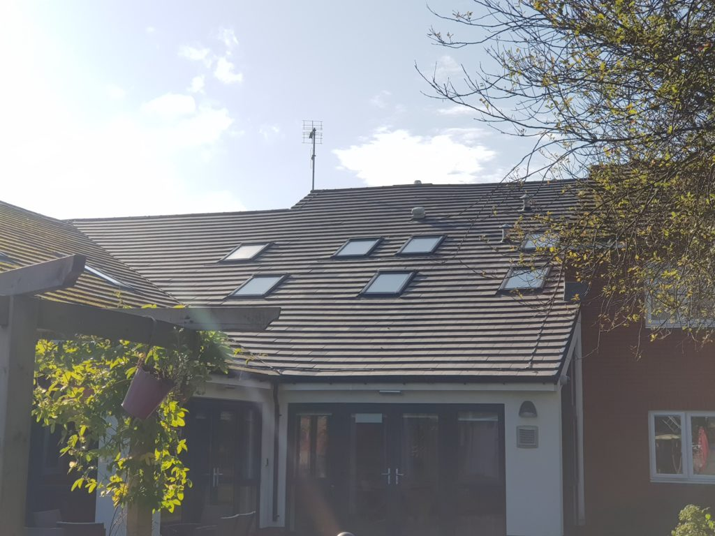 Pitched Re-roof – Using Marley Modern Tiles