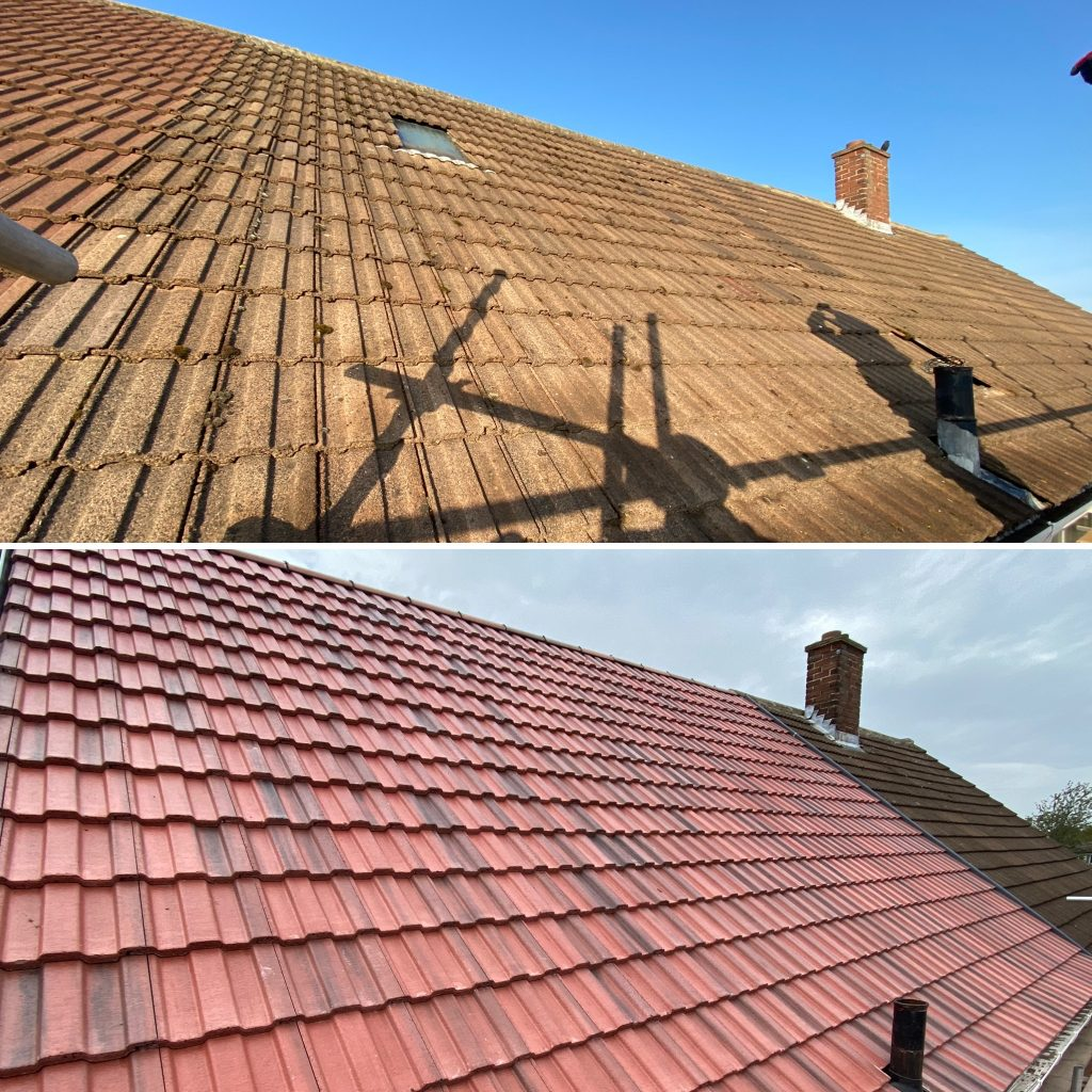 Pitched Re-roof using Marley Ludlow