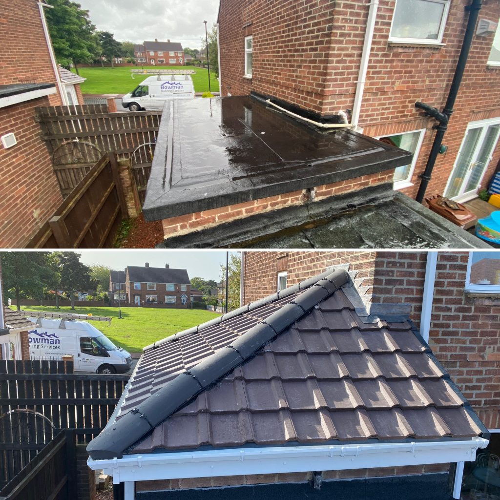 Flat to Pitch Roof Conversion