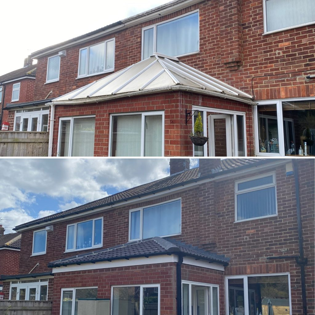 Conservatory Refurb – Roof Replacement